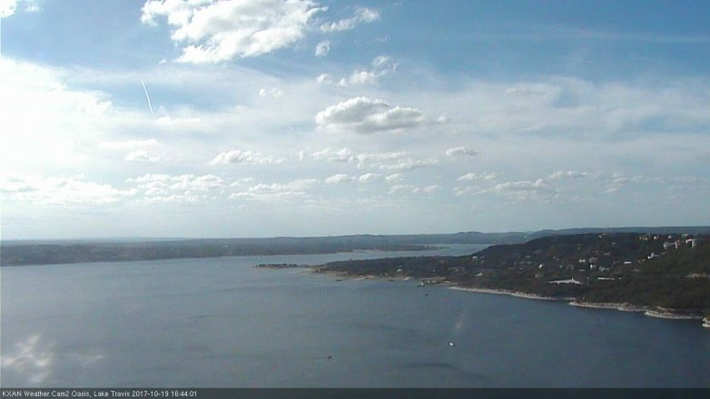 Frank lloyd wright meets texas ranch on lake travis lake for Lake travis fishing report